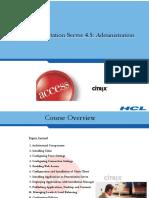 CITRIX HCL Presentation