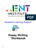 Essay Writing Workbook t1 2014