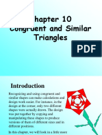 Chapter 10 Congruence and Similar Triangles