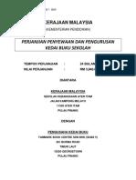 Perjanjian Kedai Buku Sk Ayer Itam 2017 - 2019