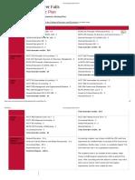 Accounting Academic Plan