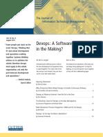 DevopsASoftwareRevolutionInTheMaking Cutter