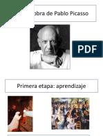 Vida y Obra de Pablo Picasso