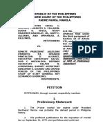 Supreme Court Martial Law Extension Petition