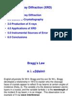 XRD Theory Presentation