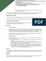 Norma General 3 96 Que Regula La Policia Personal y Aspecto Fisico