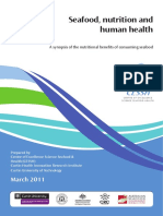 Seafood Nutrition and Human Health