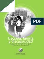 Guía Familia Discapacidad y Escuela