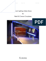 Smart Lighting Retail and Cinema Complexes