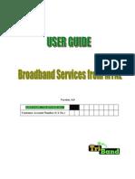 Broadband Services UserGuide V3.0