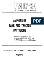FM17-34 Amphibious Tank and Tractor Battalions