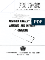 FM17-35 Armored Cavalry Units Armored and Infantry Divisions