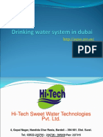 Drinking Water System in Dubai