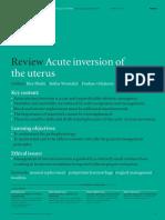 Acute inversion of the uterus.pdf