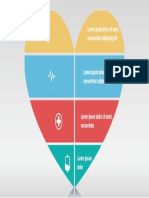 Shape of My Heart Brilliant Smart ART in Microsoft PowerPoint (PPT) for Dashboard Template