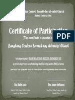Vesper - Bangbang Church (Participation)