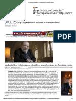ECO, Umberto.14 lições para identificar o neofascismo e o fascismo eterno.pdf