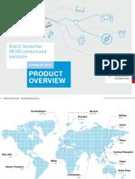 Bosch Sensortec Product Overview