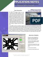 Aluminum Wheel Inspection