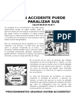 Accidente Paraliza Ingresos