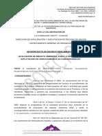 Proyecto Decreto Regulacion Estimulacion Hidraulica