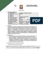 Sílabo 2017-II Deportiva y Primeros Auxilios Ok