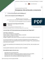 MTT BootCamp Para Principiantes