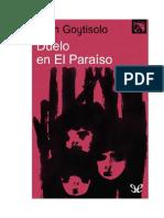 Goytisolo Juan - Duelo en El Paraiso