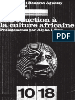 Introduction à La Culture Africaine
