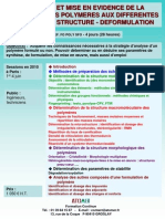 Analyse Structure Des Polymeres on 2010
