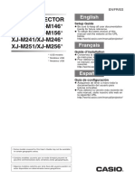 Casio M256 Setup ES