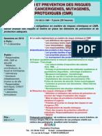 Evaluation Et Prevention Des Risques Chimiques Et CMR 2010