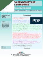 Gestion Des Dechets Entreprise 2010