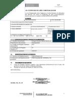 Certificado de Sanidad