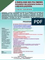 Initiation Rheologie Des Polymeres Fondus 2010 Intra