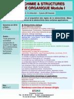Stereochimie Et Structures en Chimie Organique I 2010