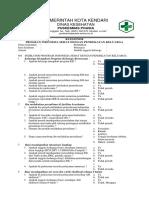 Copy of Kuesioner Program Indonesia Sehat Berbasis Keluarga