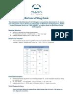 BioColors Fitting Guide
