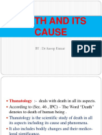 Death and Its Cause.ppt