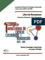 CONGRESO DE CIENCIA Y TECNOLOGIA VENEZOLANO.pdf