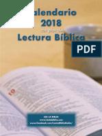 Plan de Lectura 2018