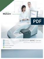 Zetasizer Nano Z