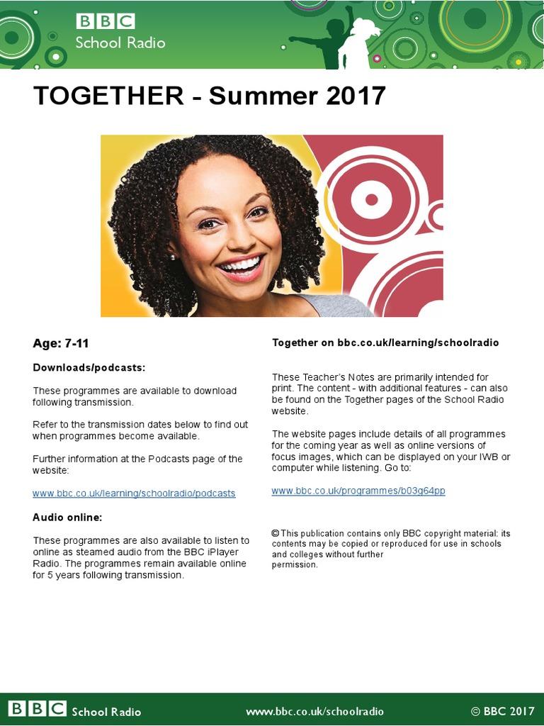 Together Summer 2017 | Podcast | Download