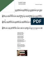 Linda Noite Flauta Texto