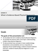 Evidence-Based Physical Diagnosis_Lec 1_ What is Evidence-Based Physical Diagnosis