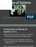 Medical History_Review of Systems (ROS)