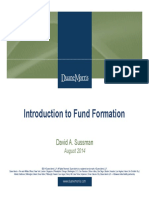 Introduction to Fund Formation