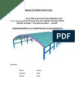 Informe de Memoria de Calculo - Cobertura de Losa Deportiva