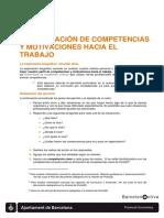 Ejercicio Identificación de Competencias
