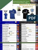 Premier League 171226 round 20 Chelsea - Brighton 2-0